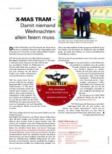 TOP Magazin Dresden Herbst 2015 X-MAS TRAM